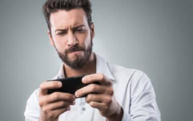Smartphone-Gamer