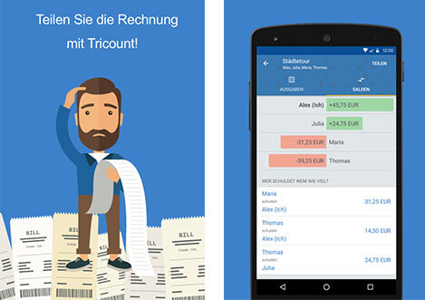 Tricount App