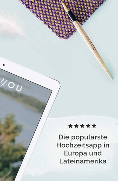 Zankyou App – Bringen Sie Ihre Hochzeit auf das nächste Level