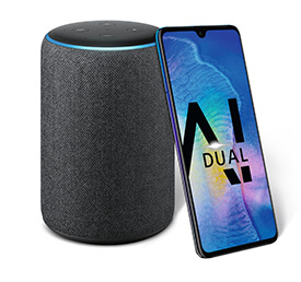 gratis Amazon Echo Plus