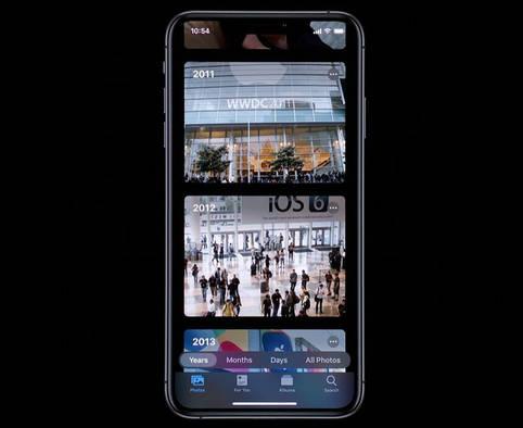 iOS 13 mit Dark Mode