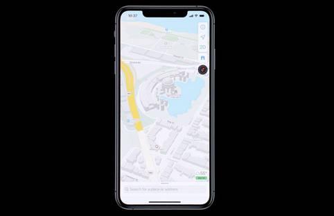 iOS 13: Apple hat Verbesserungen bei Apple Maps integriert