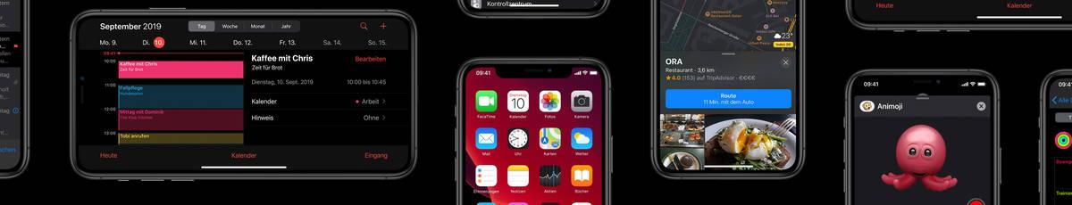 iOS 13: Funktionen & Features des neue Apple Betriebssystems