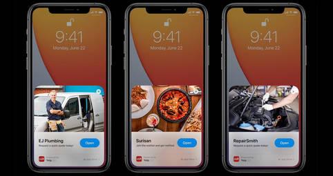 App Clips für mehr Komfort in iOS 14
