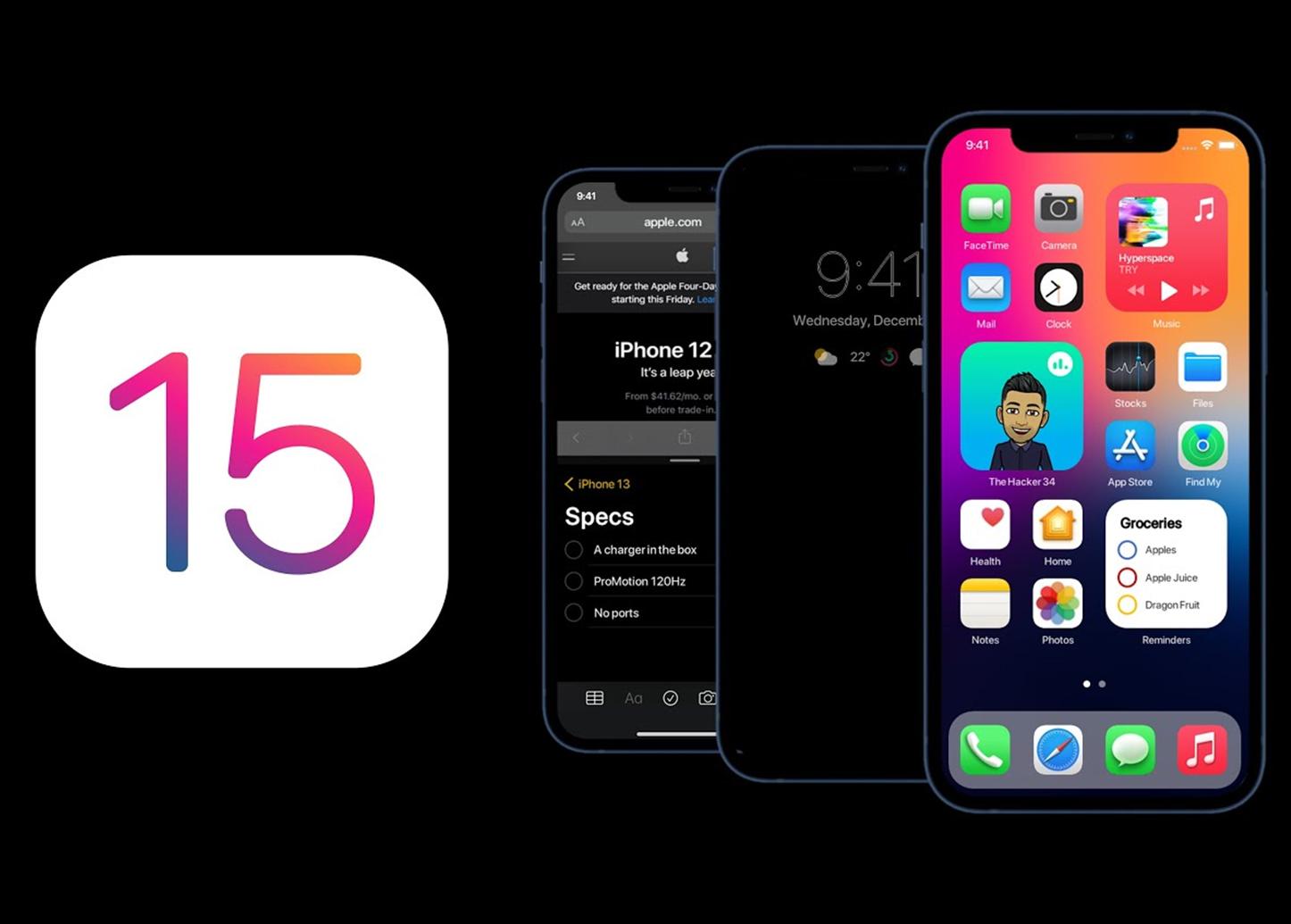 Gute Vorschläge für iOS 15