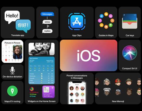 Erweiterte Auswahl an Standard-Apps
