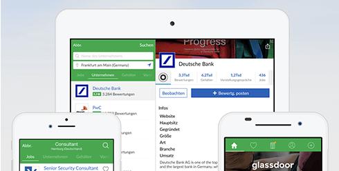 Glassdoor Jobsuche App