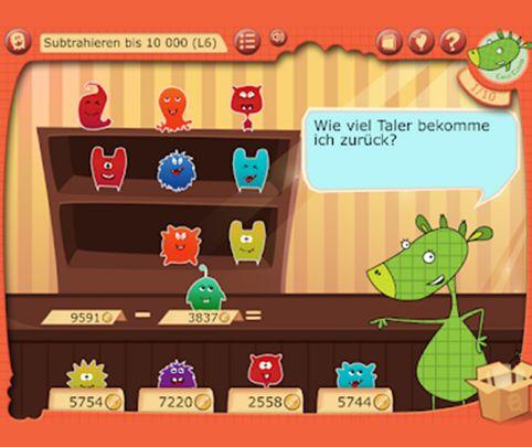 Lernspaß für Kinder – motivierende Lern-App für Mathe, Deutsch und Englisch
