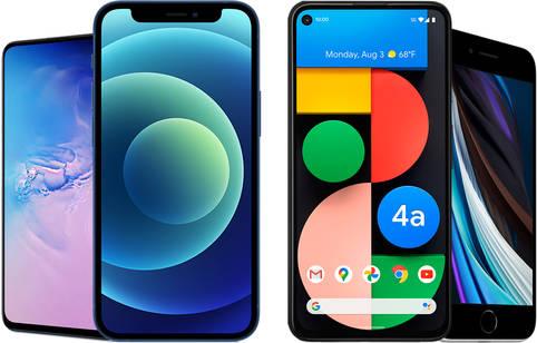 Kleine Smartphone Modelle