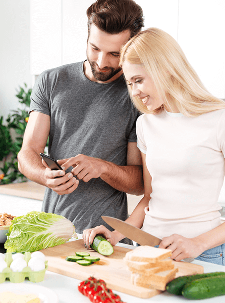 Koch App für Anfänger