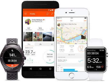 GPS Tracker - Laufen & Radfahren