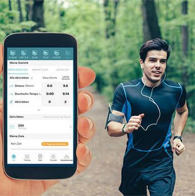 Lauf mit GPS