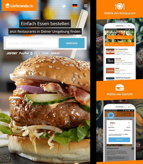 lieferservice apps im vergleich lecker essen einfach online nach hause bestellen. Black Bedroom Furniture Sets. Home Design Ideas