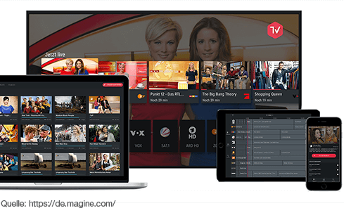 Alle öffentlich-rechtlichen TV-Sender kostenfrei und live für unterwegs