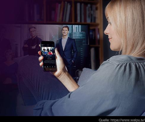 die App für Live Fernsehen mit Aufnahme-Funktion