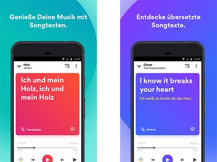 Musixmatch - Songtexte App