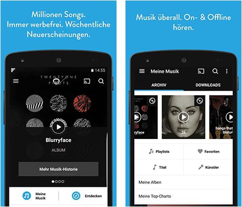 Napster - über 40 Millionen Songs aller Genres