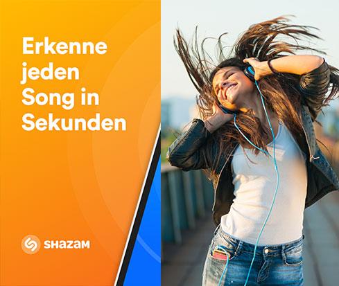 Shazam - Liederkennungs-App