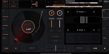 edjing Mix DJ Musik Mixer