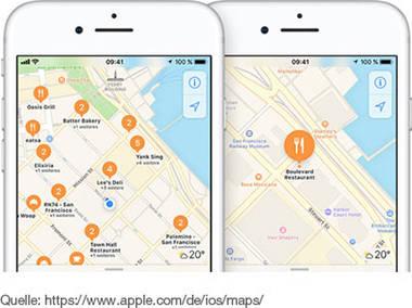Offboard-App Apple Maps