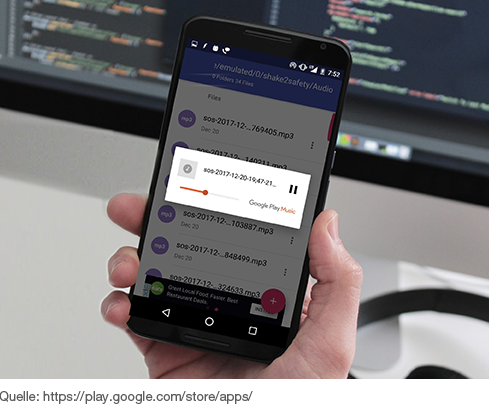 Shake2Safety App