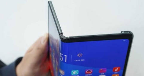 Größe und Aussehen des faltbaren OPPO-Smartphones