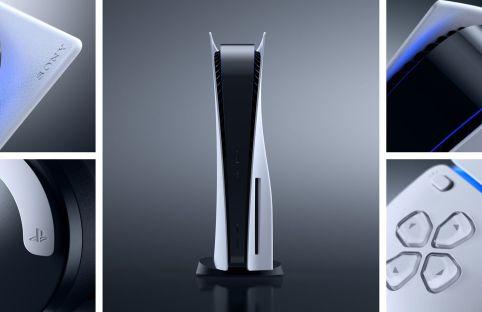 Mit dem Design der PS5 beweist Sony Mut, denn die traditionelle schwarze Box gehört der Vergangenheit an.