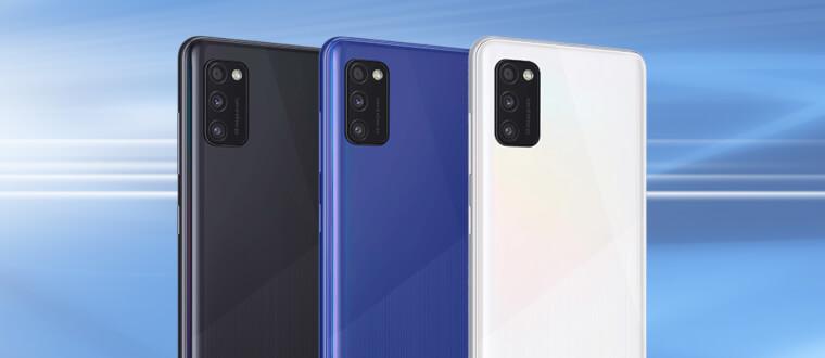 Samsung Galaxy A41: Handlich, stilvoll und zuverlässig