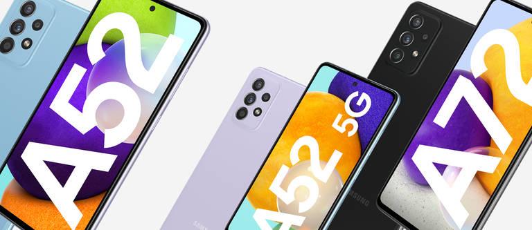 Samsung Galaxy A52 (5G) & A72