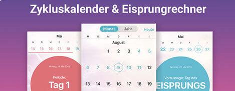 Flo Menstruations Kalender App