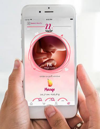 Schwangerschaft+ App
