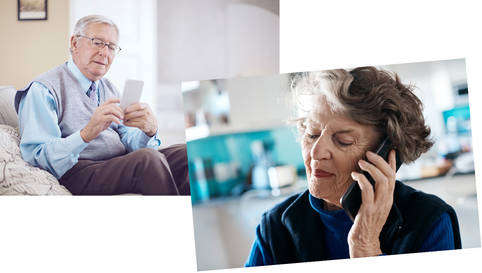 Modernes Mobiltelefon für Senioren mit oder ohne Vertrag?