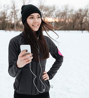 Wie kann man das Smartphone vor Kälte schützen?