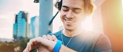 Smartwatch als Fitness-Tracker