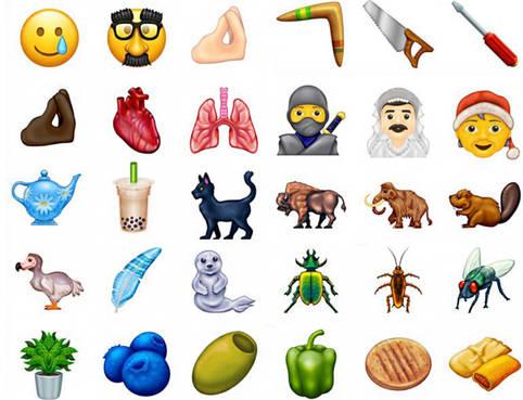 Emojis 2020: 117 neue Emojis sind für dieses Jahr geplant