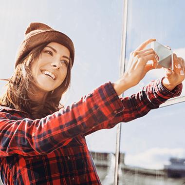Die Foto-App für Blogger, Influencer und Selfie-Stars