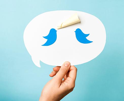 Die 'Tweet'-Plattform für Statements zu sämtlichen Themen