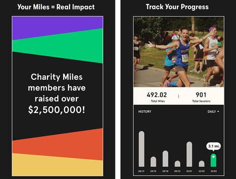 Charity Miles - Die Fitness-App mit gutem Zweck