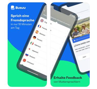 Busuu – Sprachen lernen mithilfe von Muttersprachlern