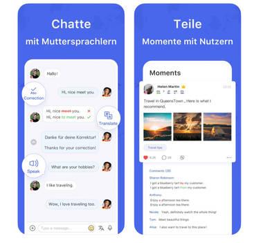 HelloTalk – Tandems finden und zusammen Sprachen lernen