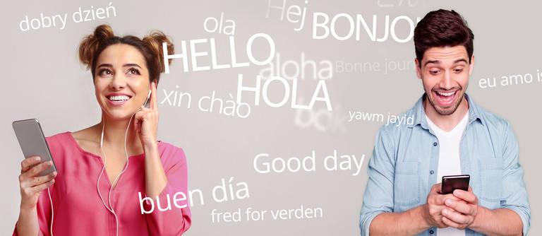 Sprachen lernen per Smartphone