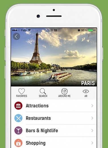 mTrip – App zum planen von Städtetrips