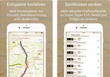 ADAC Maps App