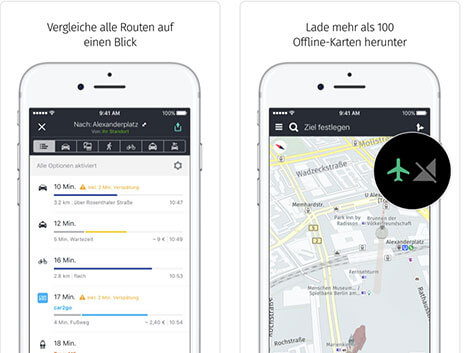 HERE WeGo App