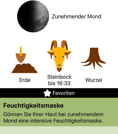 Mondkalender-App