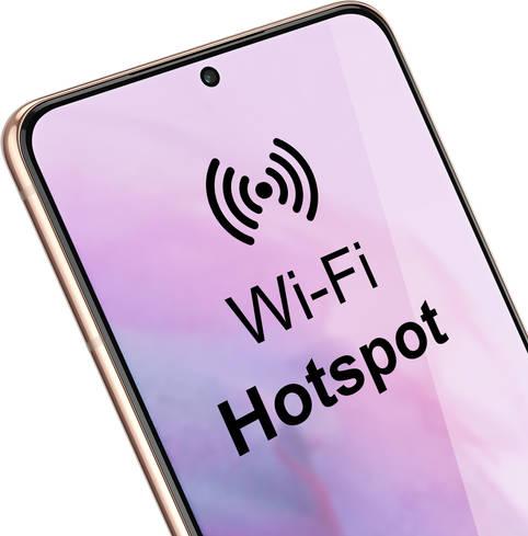 Smartphone zum WLAN-Hotspot umfunktionieren: Tethering