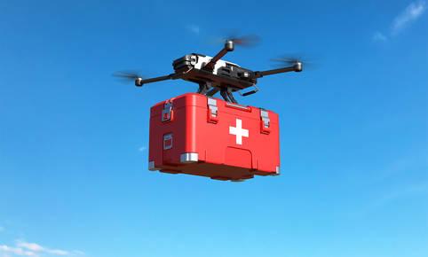 Drohnen sollen lebenswichtige Medikamente ausliefern
