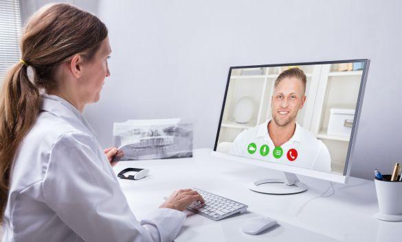 Folgende Möglichkeiten gibt es für Zahnarzt-Telemedizin: