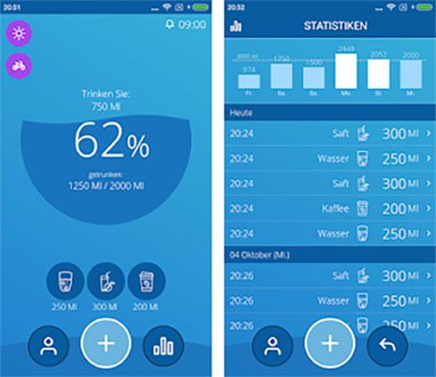 Wasser Tracker App