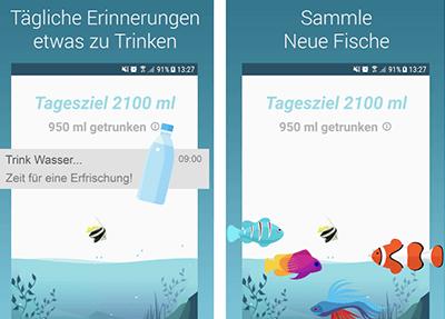 Wasser Trink Aquarium App
